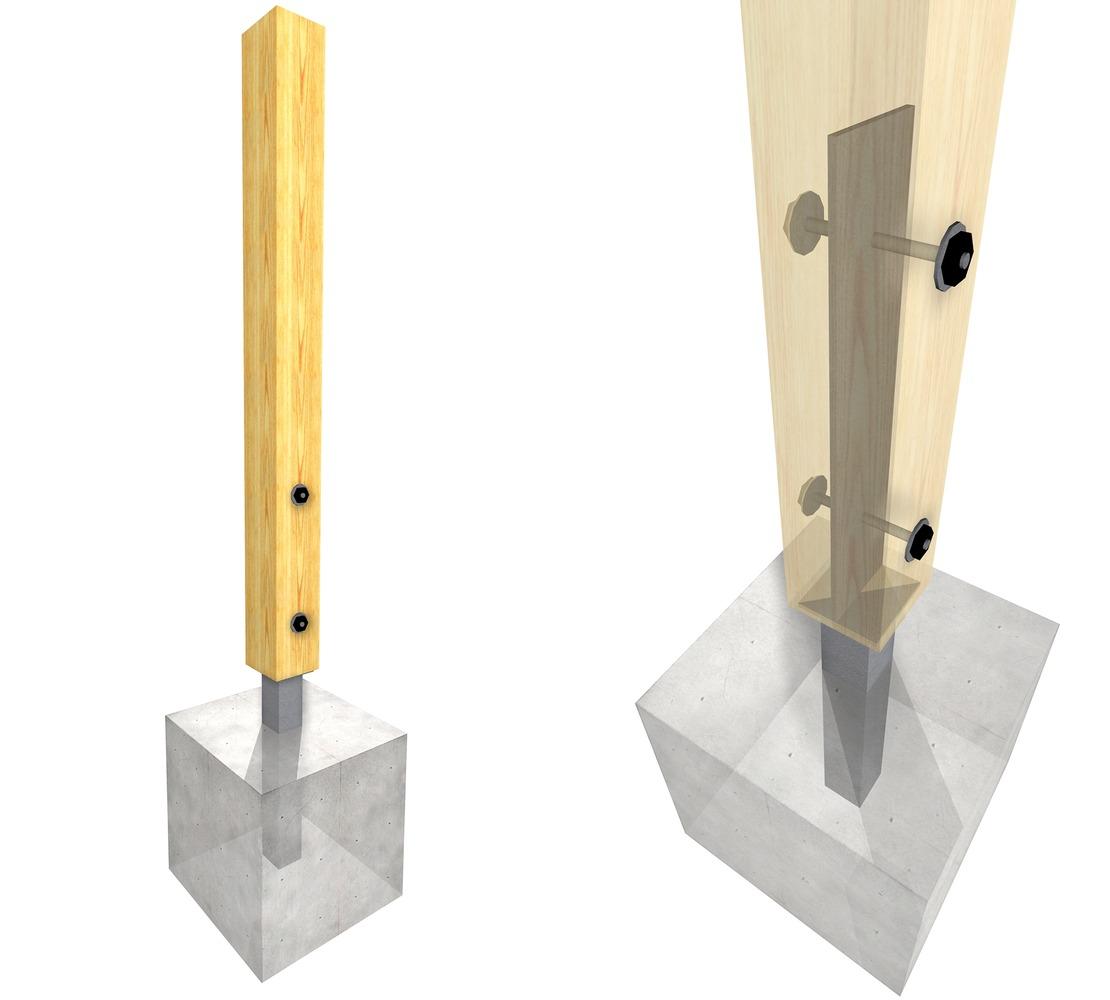 15 karakteristinih metalnih okova za spajanje drvenih