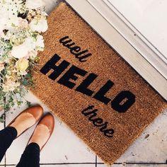килимче добре дошли у дома