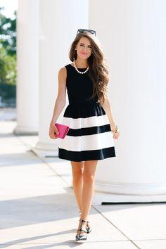 стилът и модата черно-бяло