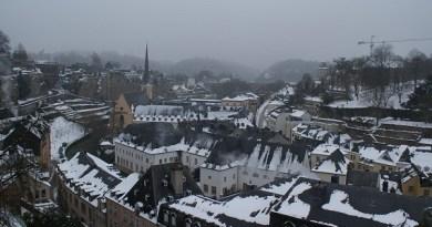 европа през зимата