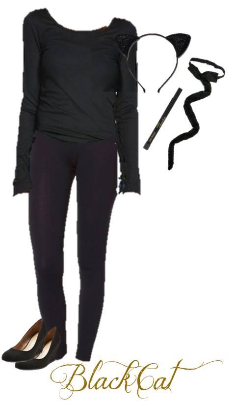 костюма на черната котка