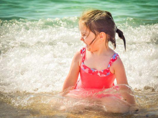 предизвикателствата с деца на море