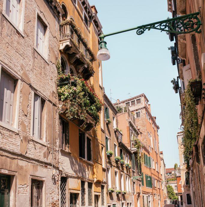 снимки из улиците на Венеция