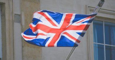 знаме Великобритания