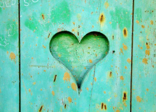 дървено сърце