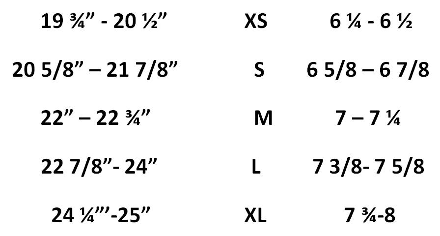 tam measurement guide graduation