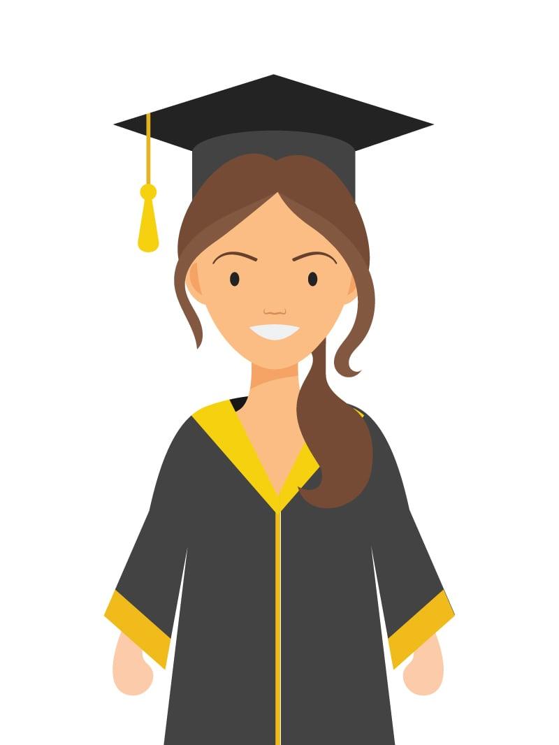 graduation caps history types