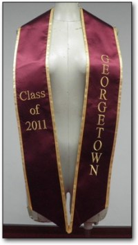 Our Examples Of Stoles For Graduation | Graduationstoles.net