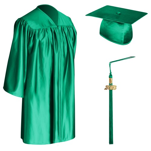 emerald green child graduation