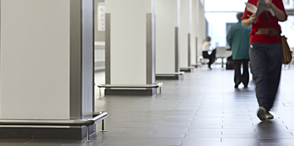 Corner Protection  Gradus  contract interior solutions