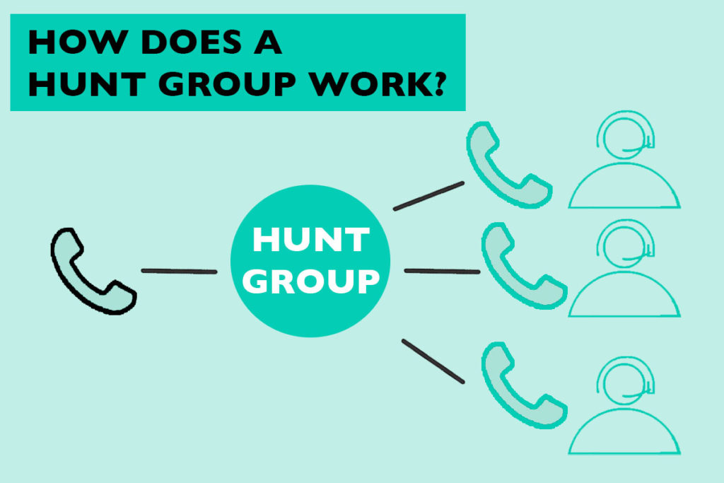 How does a hunt group work?