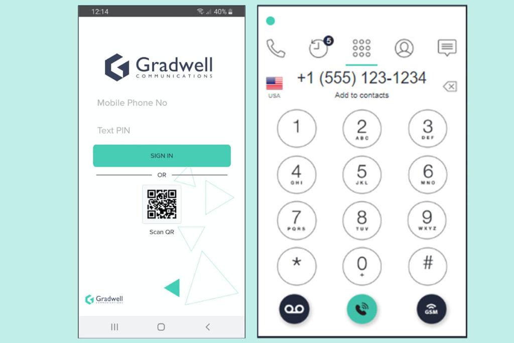 Gradwell VoIP softphone app