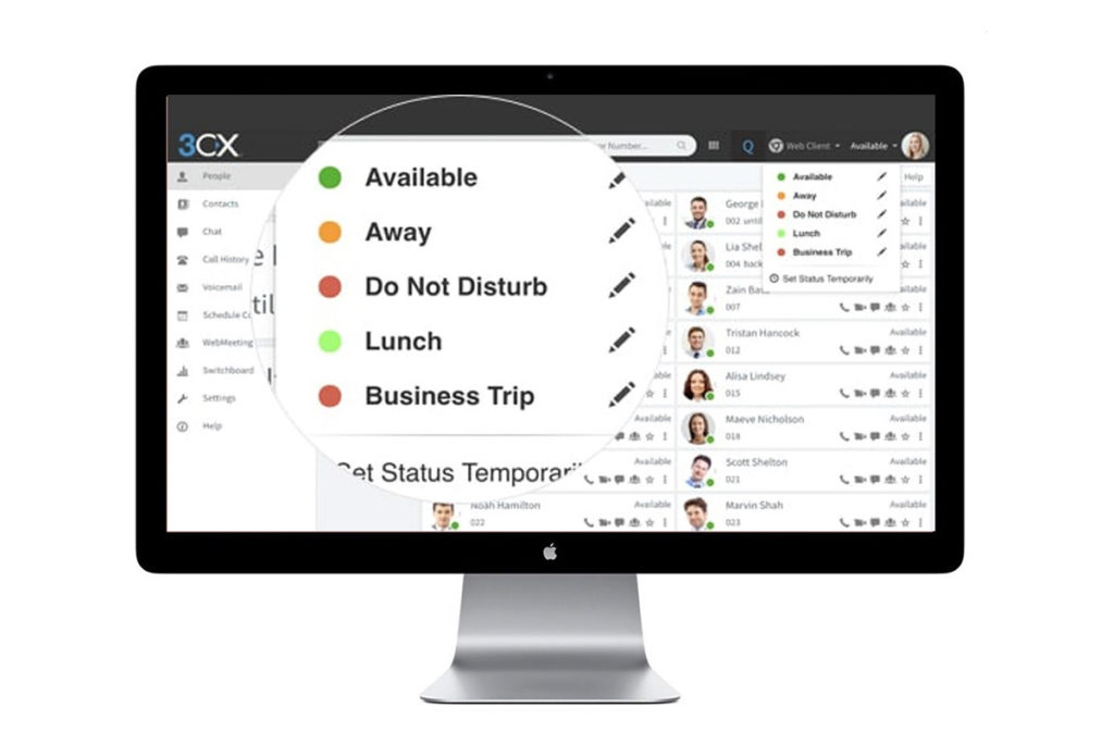 3CX monitoring features