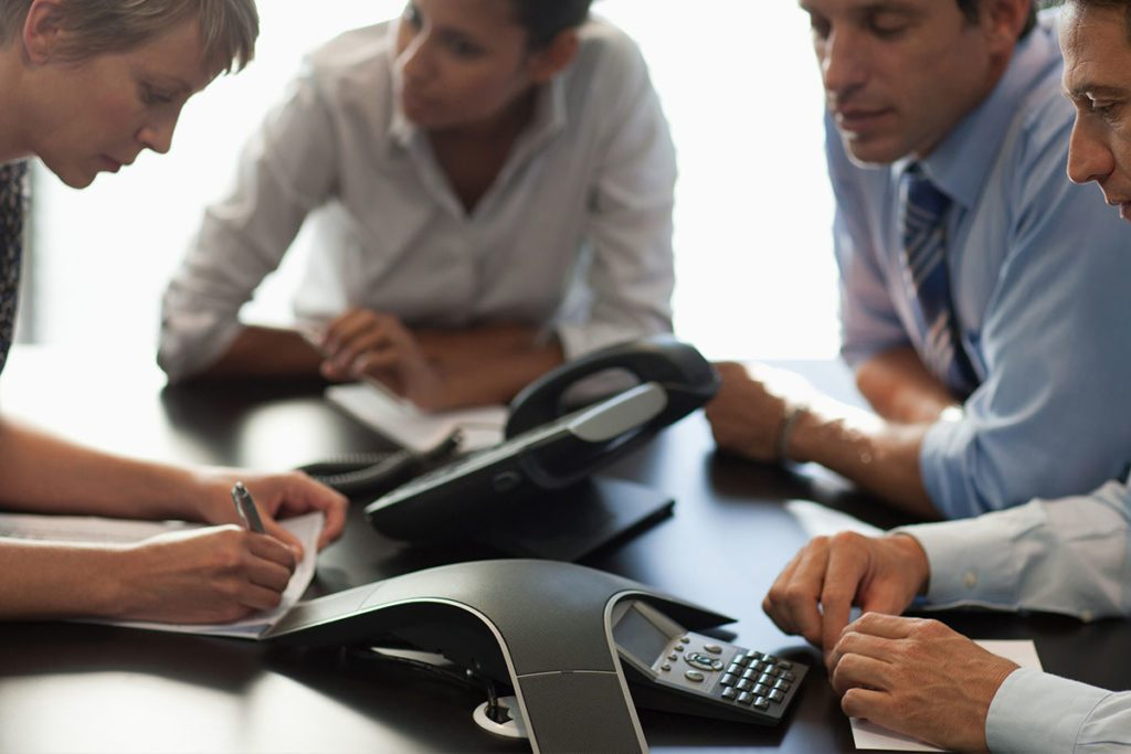 VoIP conference call