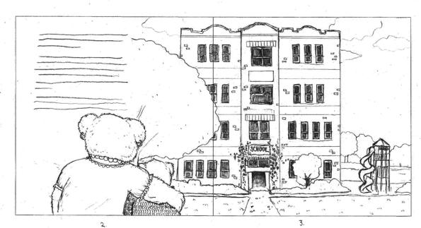 Grady Goes to School Draft Sketch