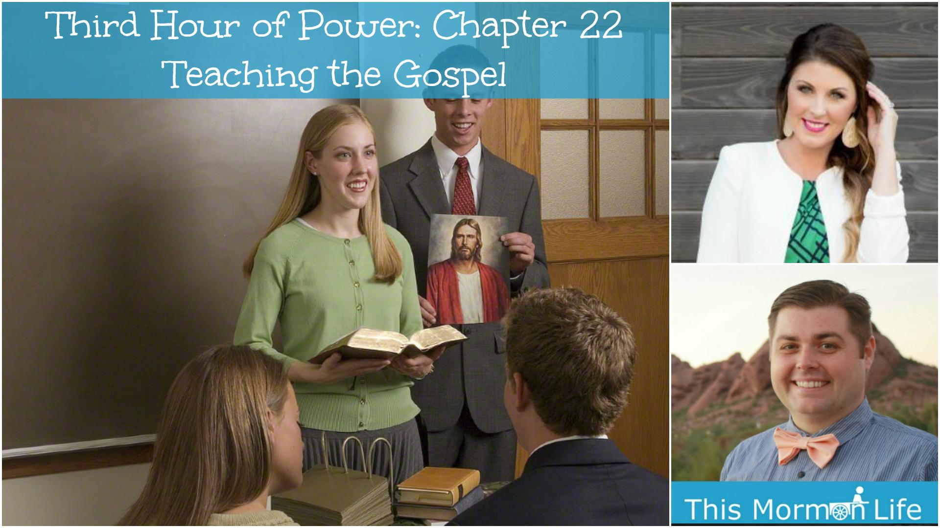 Howard W. Hunter- Chapter 22: Teaching the Gospel