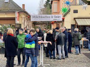 Milchkaffee & Sekt @ Gräfes Wein & fein