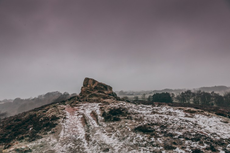 Ashover Rock, Derbyshire