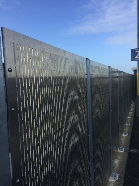 Perforated Metal Fencing  Drumcondra  Graepel Perforators