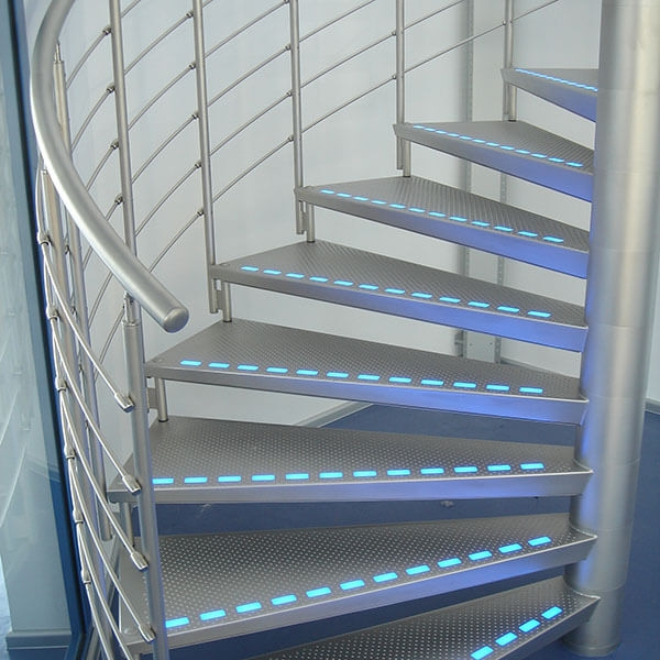 Metal Stairs And Non Slip Stair Treads Graepel Perforators   Steel Steps For Stairs   Iron Plate   Steel Structure   2 Step   Metal Floor Plate   Double Stringer