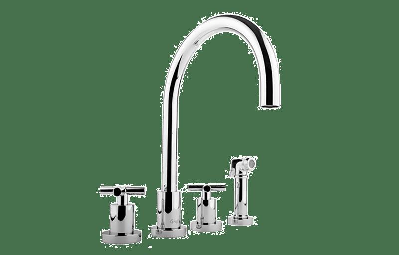 Infinity Kitchen Faucet w/ Side Spray :: Kitchen :: GRAFF