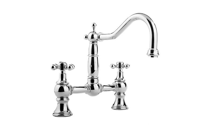 Canterbury Bridge Kitchen Faucet :: Kitchen :: GRAFF