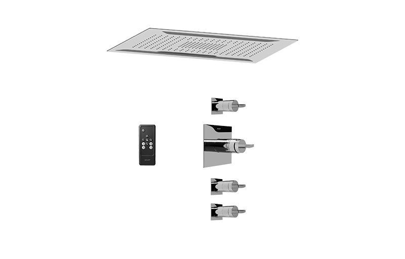 Ceiling-Mount Shower System :: Bathroom :: GRAFF