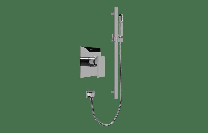 Contemporary Pressure Balancing Shower Set (Rough & Trim