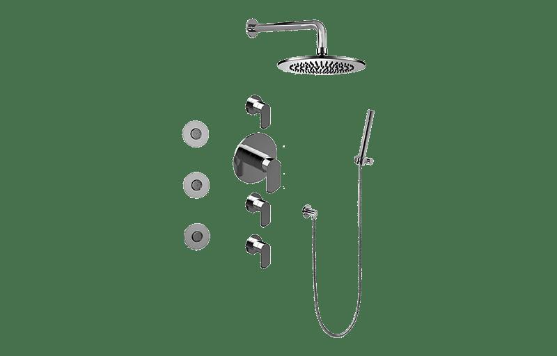 Full Thermostatic Shower System :: Bathroom :: GRAFF