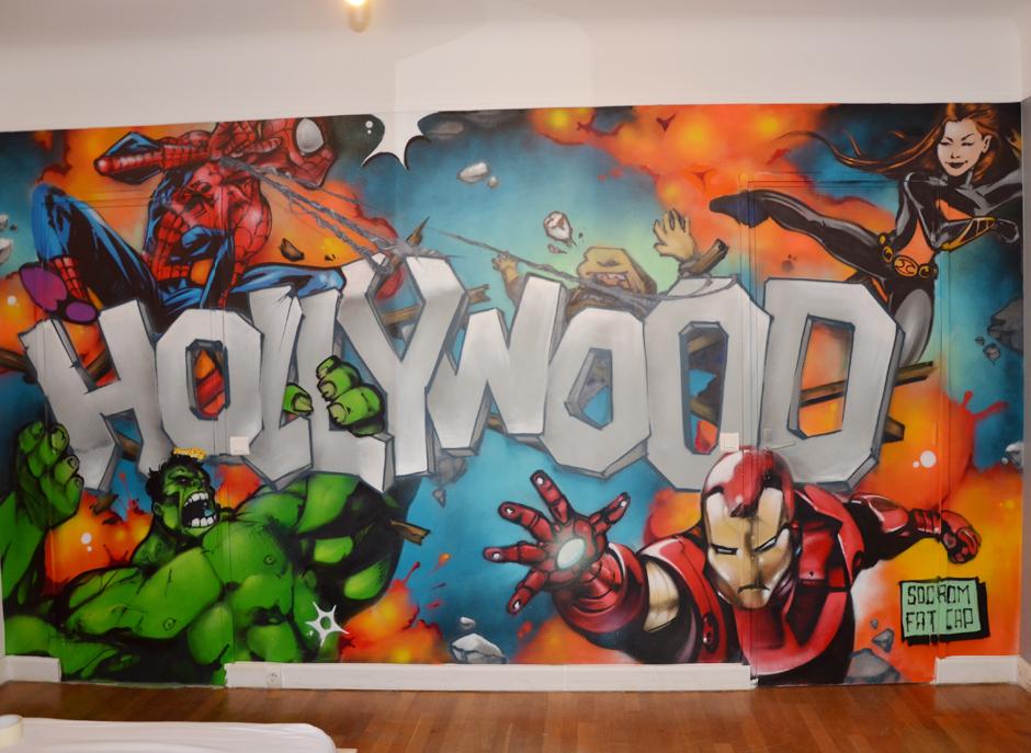 Marvel Comics  Graffiti et Street Art
