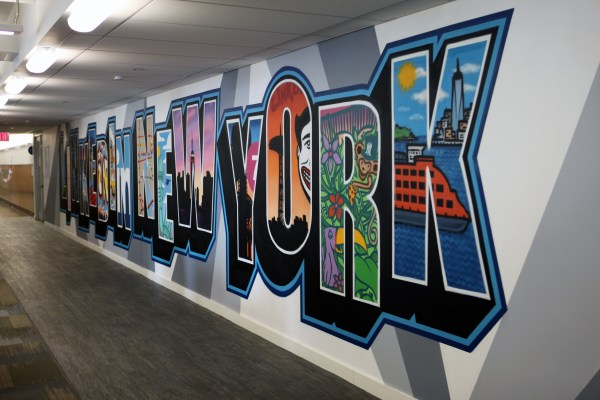 Linked In Ny Office Graffiti Murals Usa