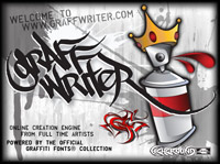 Tattoo Graffiti Font Generator