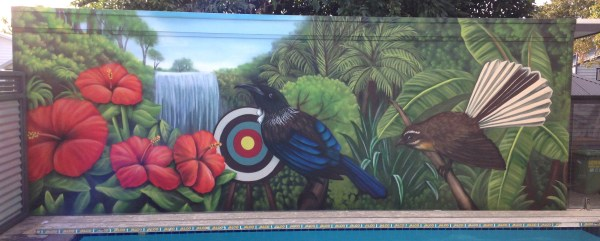 Outdoor Painting Wall Murals