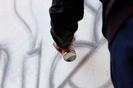 GraffitiStreet paints the Shoreditch Art Wall