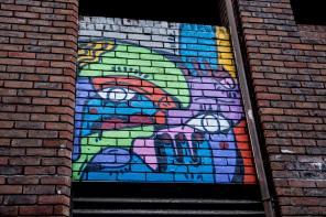 Hunto Mural in Blackall Street