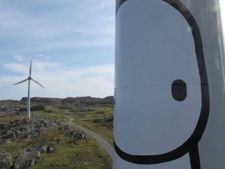 STIK - windturbine (close-up)