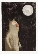 Bisser Werewolf Print