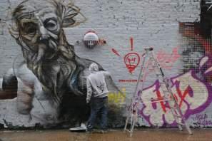 Pichi&Avo Sclater Street Wall