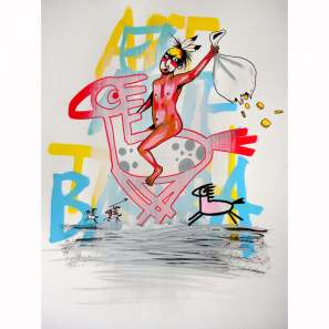 Art is Trash Original Drawing #2