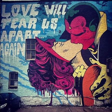 Cept, Love will tear us apart again, photo by Mikey Dread