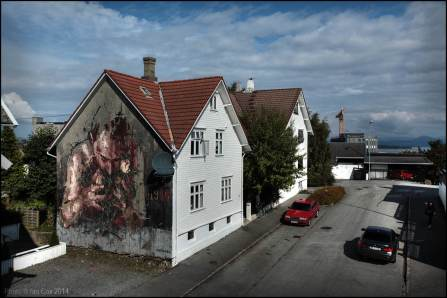 Borondo, Nuart 2014. Photo by Ian Cox