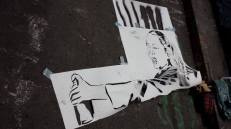 Femme Fierce Zabou stencil
