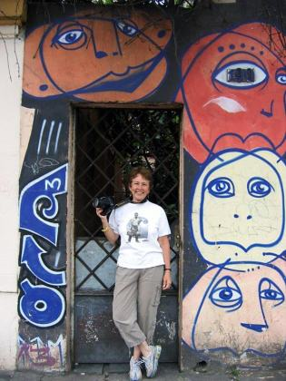 Martha Cooper in Sao Paulo 2006.