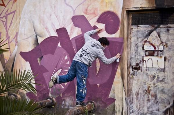 Pichiavo at Memorie Urbane 2015 - Photo by Arianna Barone
