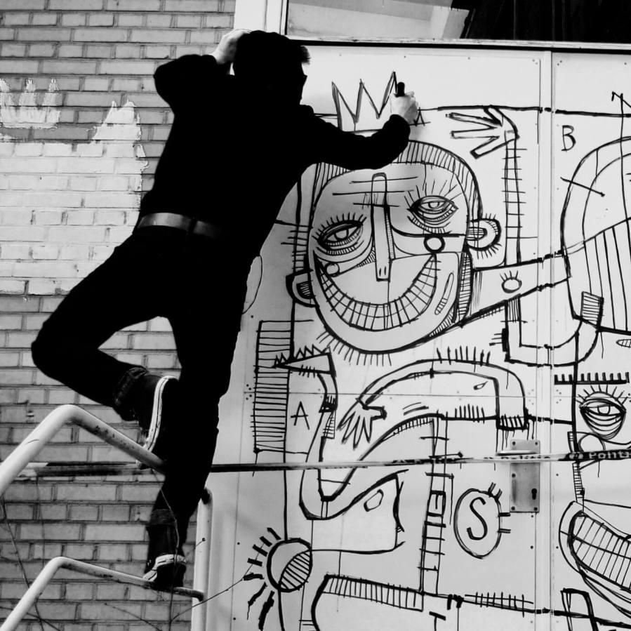 Street Artist Joachim