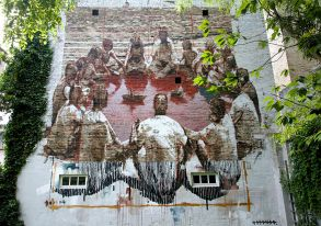 Borondo . Photo © Henrik Haven
