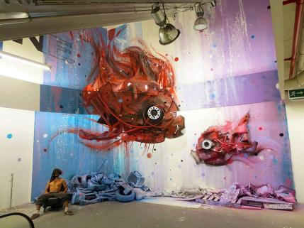 Bordalo II. Photo © artist