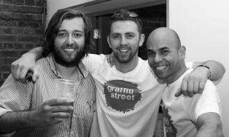 Rosh, James and Sameer