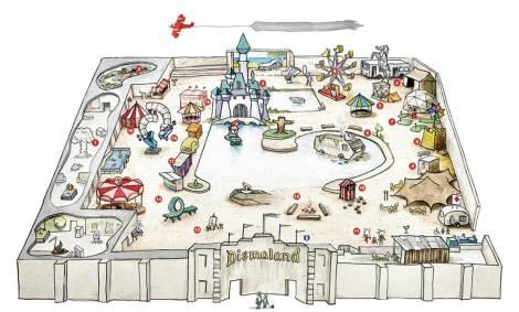 Banky's Dismaland Bemusement Park Map
