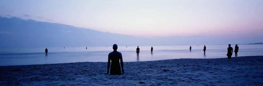 """""""Another Place"""" by Anthony Gormley, Stavanger. Photo Credit Anthony Gormley"""